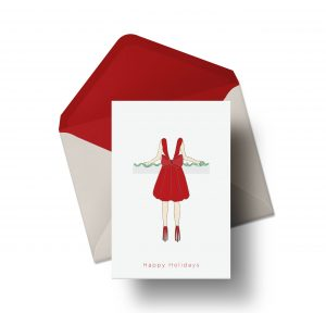 Seasonal Dress Card